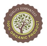 Quality guaranteed - 100% organic product